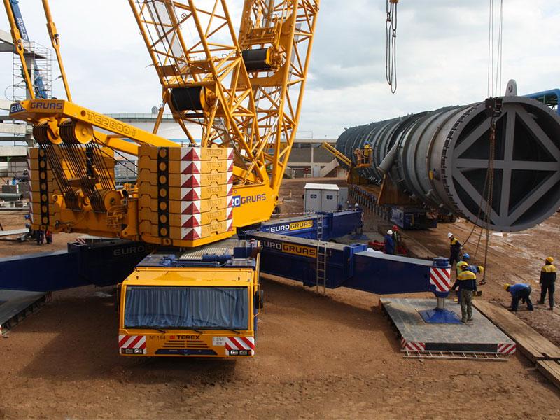 Travaux d'extension de la raffinerie LASAMIR