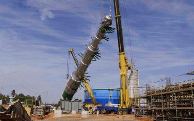 Operación de elevación en Senegal